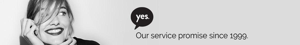 Baron Boutique's service promise since 1999.